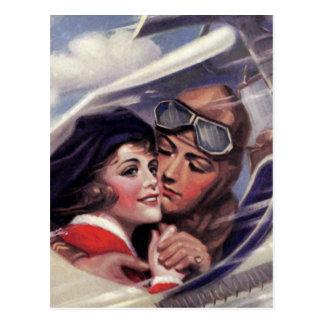 Carte Postale Romance dans le ciel