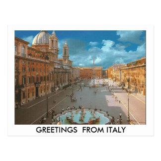 Carte Postale ROME 7 (Mojisola un Gbadamosi - un Okubule)