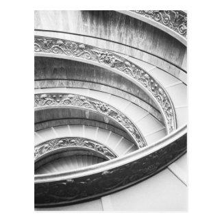 Carte Postale Rome escalier d'Italie, Vatican