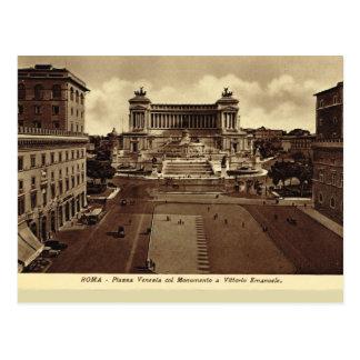 Carte Postale Rome, Piazza Venezia