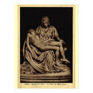 Carte Postale Rome, Pieta, par Michaël Angelo