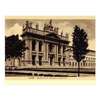 Carte Postale Rome, St John dans Lateran