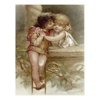 Carte Postale Romeo et Juliet Frances Brundage Valentine