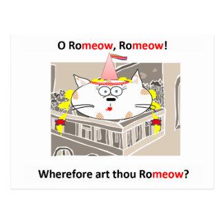 Carte Postale Romeow