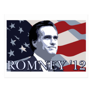 Carte Postale Romney 2012