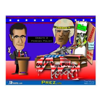 Carte Postale Romney contre la commande O