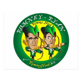 Carte Postale Romney Ryan 2 archers