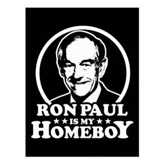 Carte Postale Ron Paul est mon Homeboy