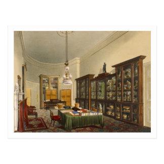 Carte Postale Room du secrétaire, Chambre d'Apsley, par T. Boys,