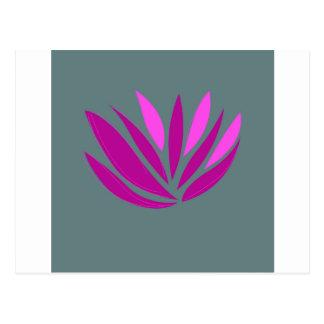 Carte Postale Rose de mandala de santé, édition d'ethno de jpg
