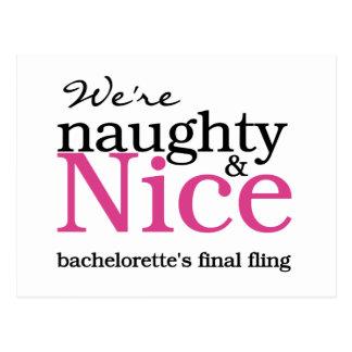 Carte Postale Rose final de Fling de Bachelorettes