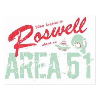 Carte Postale Roswell