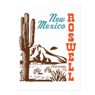 Carte Postale Roswell Nouveau Mexique
