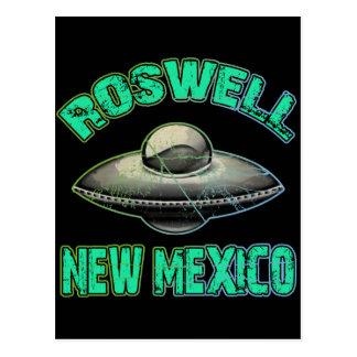Carte Postale Roswell, Nouveau Mexique