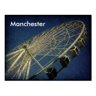 Carte Postale Roue de Manchester