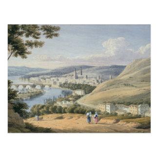 Carte Postale Rouen de Mont Sainte-Catherine (la semaine sur le