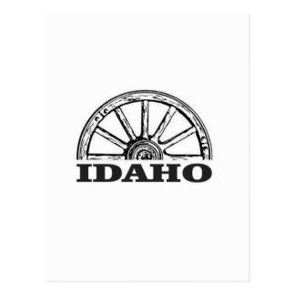 Carte Postale Roues de l'Idaho