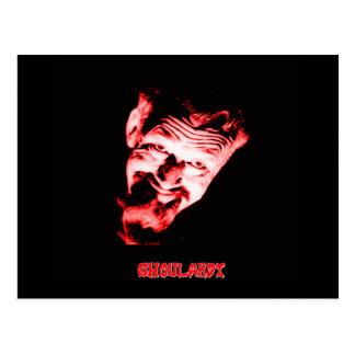 Carte postale (rouge) de Ghoulardi