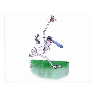 Carte Postale ROULANT - cricket, fernandes élégants