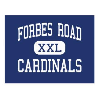 Carte Postale Route de Forbes - cardinaux - haute - cascade