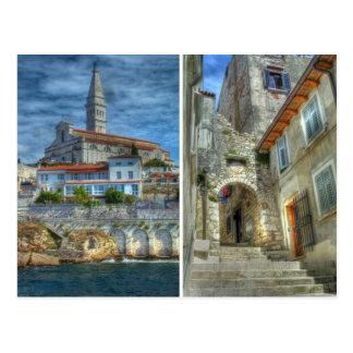 Carte Postale Rovinj, Croatie