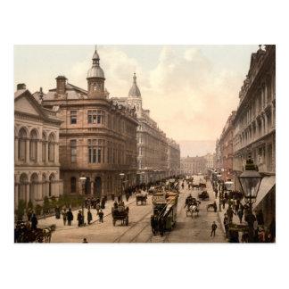 Carte postale royale de Belfast d'avenue