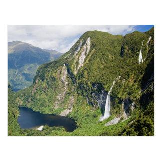 Carte Postale Royaume de Campbells, bruit douteux, Fiordland