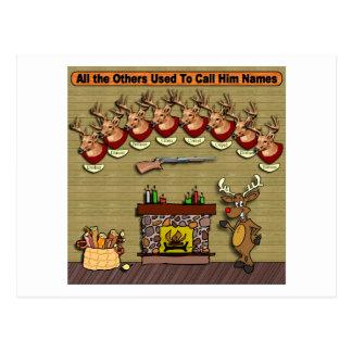 Carte Postale Rudolph