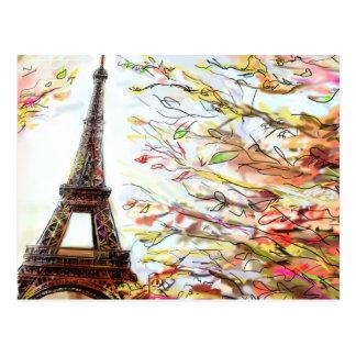 Carte Postale Rue à Paris - illustration 2