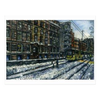 Carte Postale Rue d'Aytoun, Manchester par Anthony McCarthy 2010
