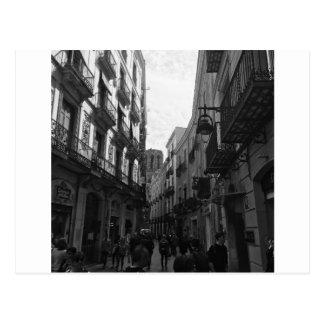 Carte Postale Rue de Barcelone