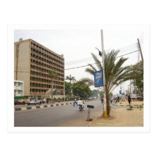 Carte Postale Rue de Kaduna, Nigéria