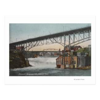 Carte Postale Rue de Spokane, Washington - de Monroe