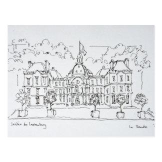 Carte Postale Rue de Vaugirard, Paris du palais | du