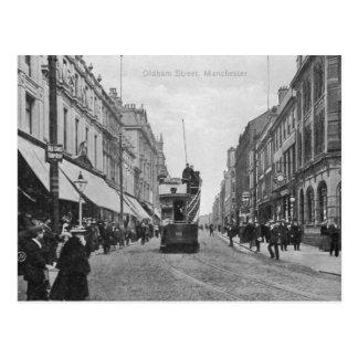 Carte Postale Rue d'Oldham, Manchester, c.1910