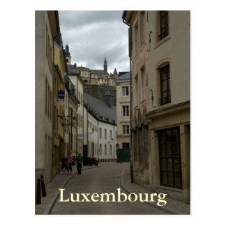 Carte Postale Rue Münster, Grund, Luxembourg