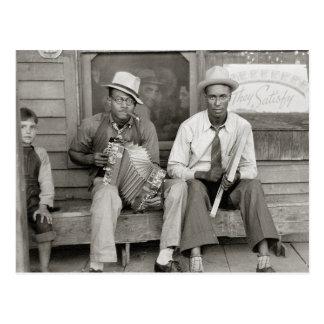 Carte Postale Rue Musicians, 1938