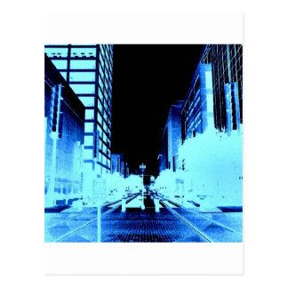 Carte Postale Rue principale Houston