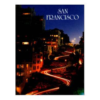 Carte Postale Rue San Francisco de Lombard