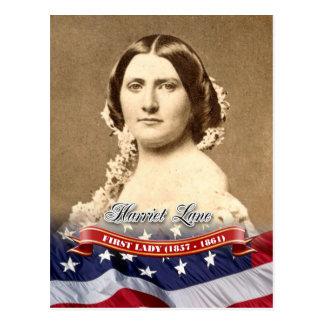 Carte Postale Ruelle de Harriet, première Madame des États-Unis