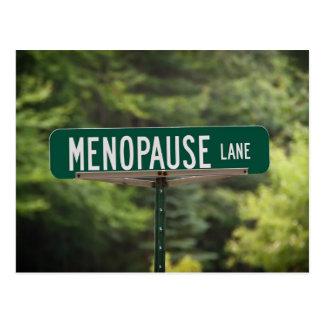 Carte Postale Ruelle de ménopause