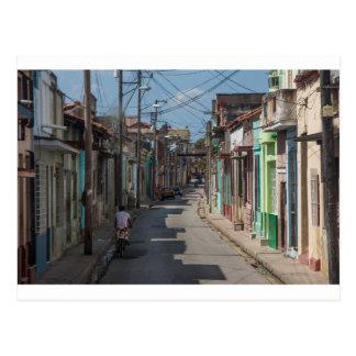 Carte Postale Rues de La Havane