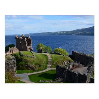Carte Postale Ruines de château d'Urquhart