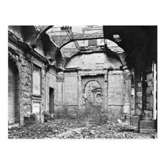 Carte Postale Ruines du DES Comptes de Cour