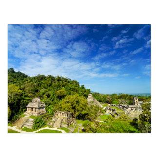 Carte Postale Ruines en Palenque, le Mexique