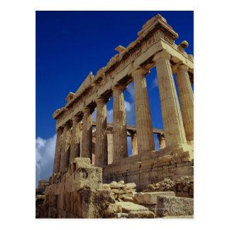 Carte Postale Ruines grecques, Acropole, Grèce
