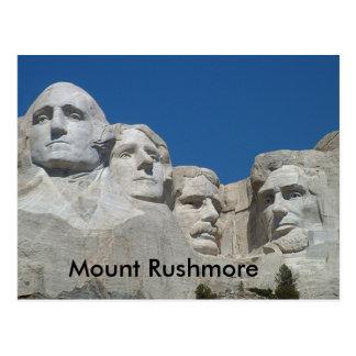 Carte Postale Rushmore