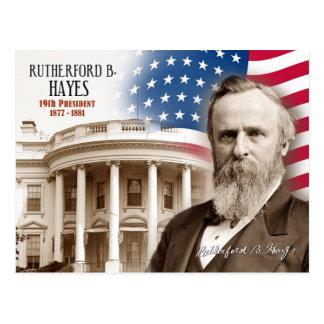 Carte Postale Rutherford Birchard Hayes - 19ème président des