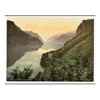 Carte Postale Rutli, et Urnersee, luzerne de lac, cla de la