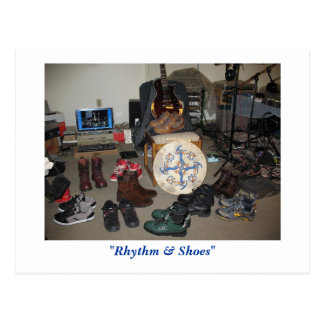 "Carte Postale ""Rythme et chaussures"" (carte postale)"